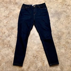 DL1961 Chrissy Trimtone High Rise Skinny Jeans 28